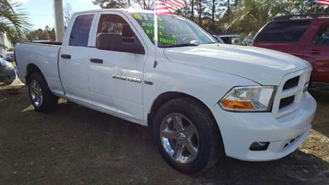 2012 Dodge Ram Pickup 1500 for sale at Rodgers Enterprises in North Charleston SC
