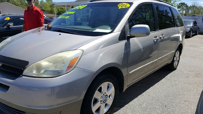 2004 Toyota Sienna XLE Limited 7-Passenger 4dr Mini-Van - North Charleston SC