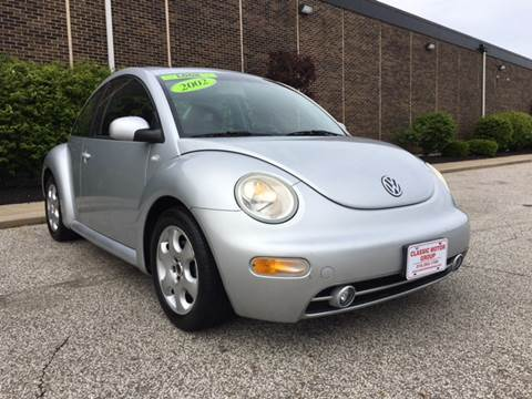2002 Volkswagen New Beetle for sale at Classic Motor Group in Cleveland OH