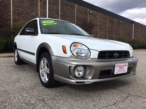 2002 Subaru Impreza for sale at Classic Motor Group in Cleveland OH