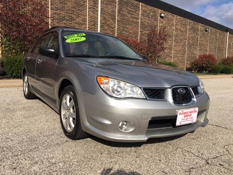 2007 Subaru Impreza for sale at Classic Motor Group in Cleveland OH