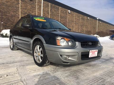 2005 Subaru Impreza for sale at Classic Motor Group in Cleveland OH
