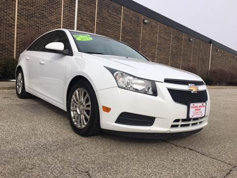 2012 Chevrolet Cruze for sale at Classic Motor Group in Cleveland OH