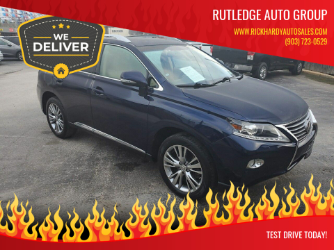 2013 Lexus RX 350 for sale at Rutledge Auto Group in Palestine TX