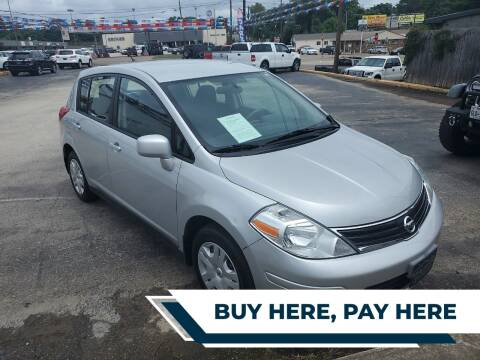2012 Nissan Versa for sale at Rutledge Auto Group in Palestine TX