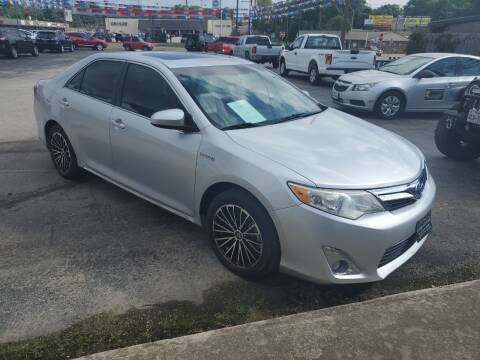 2013 Toyota Camry Hybrid for sale at Rutledge Auto Group in Palestine TX