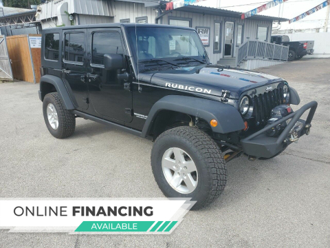 2009 Jeep Wrangler Unlimited for sale at Rutledge Auto Group in Palestine TX