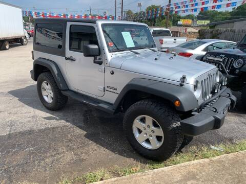 2011 Jeep Wrangler for sale at Rutledge Auto Group in Palestine TX