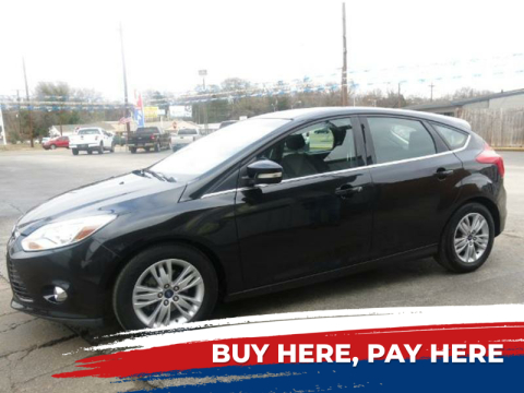 2012 Ford Focus for sale at Rutledge Auto Group in Palestine TX