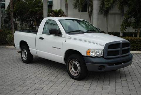 2004 Dodge Ram Pickup 1500 for sale at Auto Quest USA INC in Fort Myers Beach FL