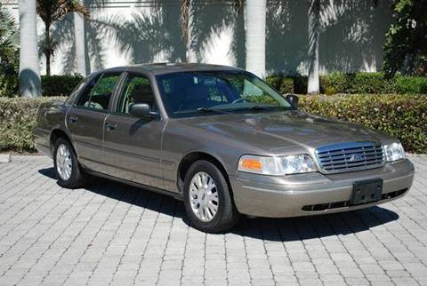 2003 Ford Crown Victoria for sale at Auto Quest USA INC in Fort Myers Beach FL