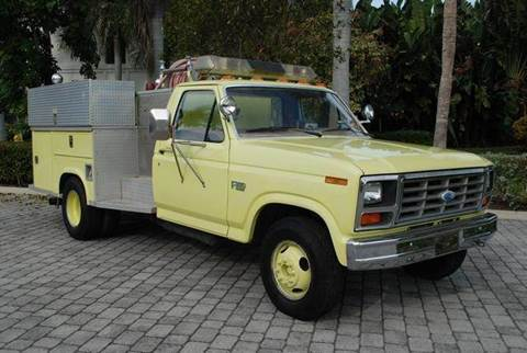1985 Ford F-350 for sale at Auto Quest USA INC in Fort Myers Beach FL