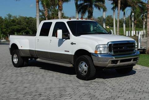2003 Ford F-350 Super Duty for sale at Auto Quest USA INC in Fort Myers Beach FL