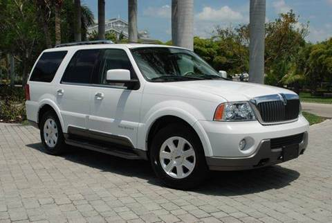 2004 Lincoln Navigator for sale at Auto Quest USA INC in Fort Myers Beach FL