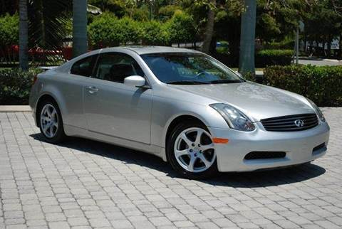 2003 Infiniti G35 for sale at Auto Quest USA INC in Fort Myers Beach FL