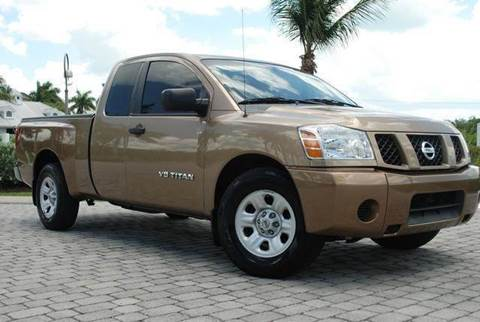 2005 Nissan Titan for sale at Auto Quest USA INC in Fort Myers Beach FL