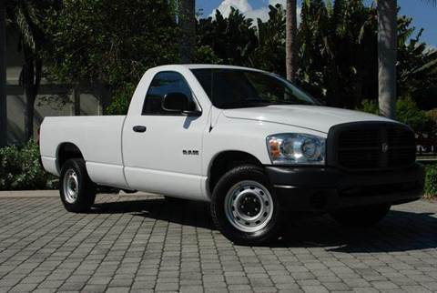2008 Dodge Ram Pickup 1500 for sale at Auto Quest USA INC in Fort Myers Beach FL