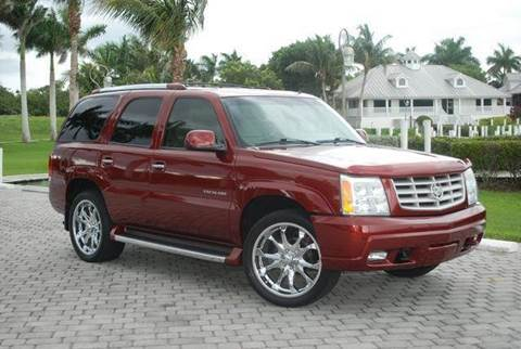 2002 Cadillac Escalade for sale at Auto Quest USA INC in Fort Myers Beach FL