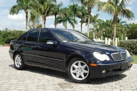 2004 Mercedes-Benz C-Class for sale at Auto Quest USA INC in Fort Myers Beach FL