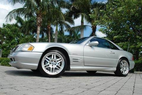 2002 Mercedes-Benz SL-Class for sale at Auto Quest USA INC in Fort Myers Beach FL