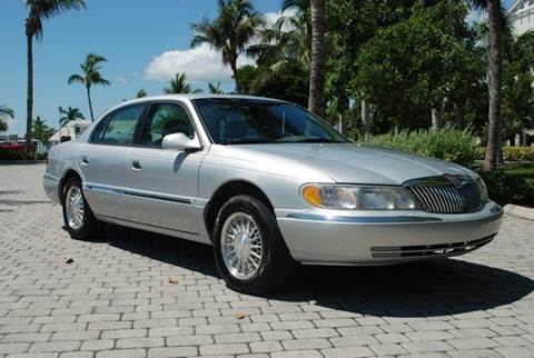 2002 Lincoln Continental for sale at Auto Quest USA INC in Fort Myers Beach FL