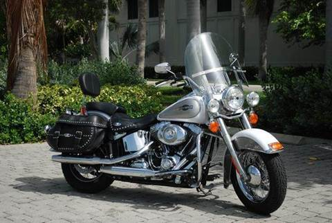 2008 Harley-Davidson FLSTC Heritage Softail Classic for sale at Auto Quest USA INC in Fort Myers Beach FL