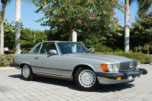 Charming 1986 Mercedes Benz SL Class For Sale At Auto Quest USA INC In Fort