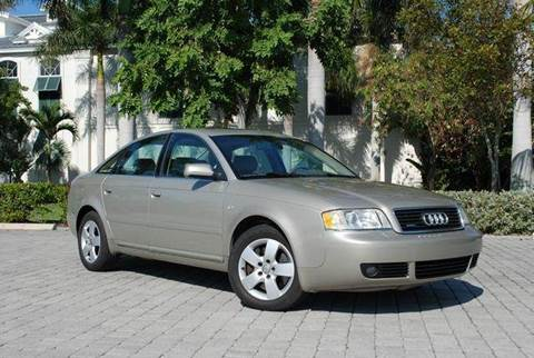 2002 Audi A6 for sale at Auto Quest USA INC in Fort Myers Beach FL