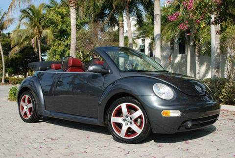 2005 Volkswagen New Beetle for sale at Auto Quest USA INC in Fort Myers Beach FL
