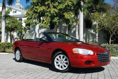 2004 Chrysler Sebring for sale at Auto Quest USA INC in Fort Myers Beach FL