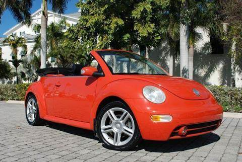 2004 Volkswagen New Beetle for sale at Auto Quest USA INC in Fort Myers Beach FL