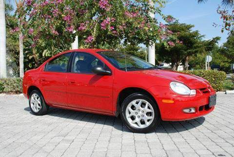 2002 Dodge Neon for sale at Auto Quest USA INC in Fort Myers Beach FL