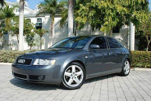 2002 Audi A4 for sale at Auto Quest USA INC in Fort Myers Beach FL