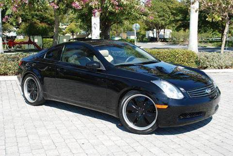 2006 Infiniti G35 for sale at Auto Quest USA INC in Fort Myers Beach FL