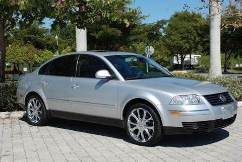 2005 Volkswagen Passat for sale at Auto Quest USA INC in Fort Myers Beach FL
