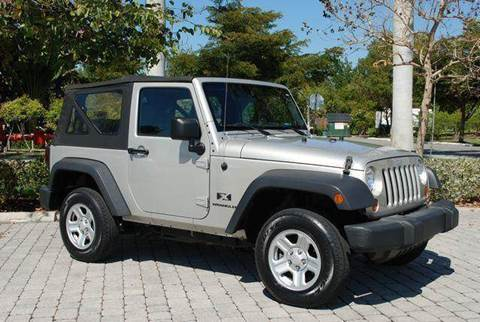 2007 Jeep Wrangler for sale at Auto Quest USA INC in Fort Myers Beach FL