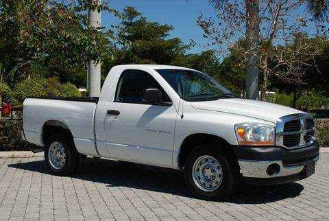 2006 Dodge Ram Pickup 1500 for sale at Auto Quest USA INC in Fort Myers Beach FL