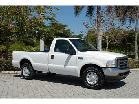 2004 Ford F-250 Super Duty for sale at Auto Quest USA INC in Fort Myers Beach FL