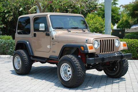 2000 Jeep Wrangler for sale at Auto Quest USA INC in Fort Myers Beach FL