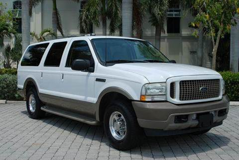 2003 Ford Excursion for sale at Auto Quest USA INC in Fort Myers Beach FL