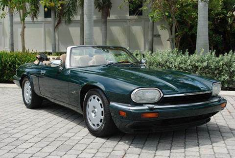 1996 Jaguar XJS for sale at Auto Quest USA INC in Fort Myers Beach FL