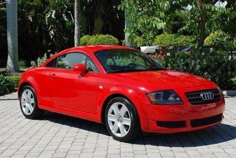 2003 Audi TT for sale at Auto Quest USA INC in Fort Myers Beach FL