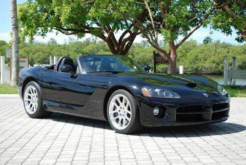 2003 Dodge Viper for sale at Auto Quest USA INC in Fort Myers Beach FL
