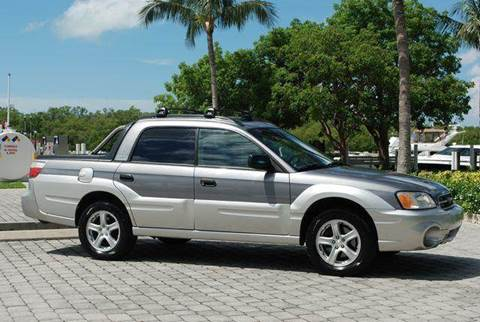 2005 Subaru Baja for sale at Auto Quest USA INC in Fort Myers Beach FL