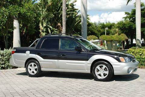 2003 Subaru Baja for sale at Auto Quest USA INC in Fort Myers Beach FL