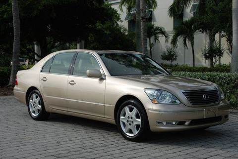 2004 Lexus LS 430 for sale at Auto Quest USA INC in Fort Myers Beach FL