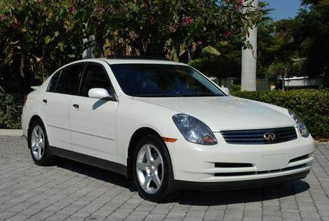 2004 Infiniti G35 for sale at Auto Quest USA INC in Fort Myers Beach FL