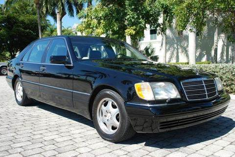 1997 Mercedes-Benz S-Class for sale at Auto Quest USA INC in Fort Myers Beach FL