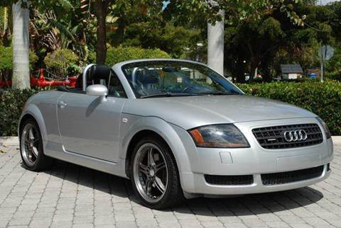 2004 Audi TT for sale at Auto Quest USA INC in Fort Myers Beach FL