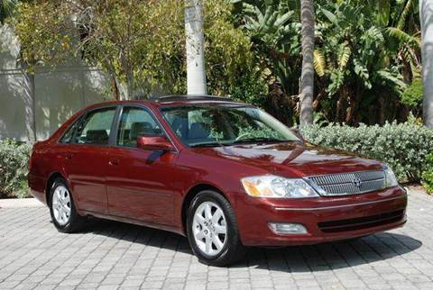 2001 Toyota Avalon for sale at Auto Quest USA INC in Fort Myers Beach FL